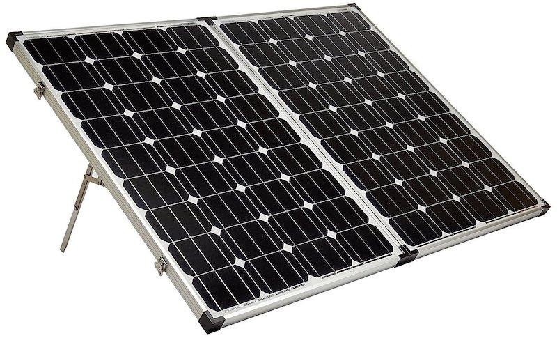The 120watt 12v solar camping solution for my VW Westfalia