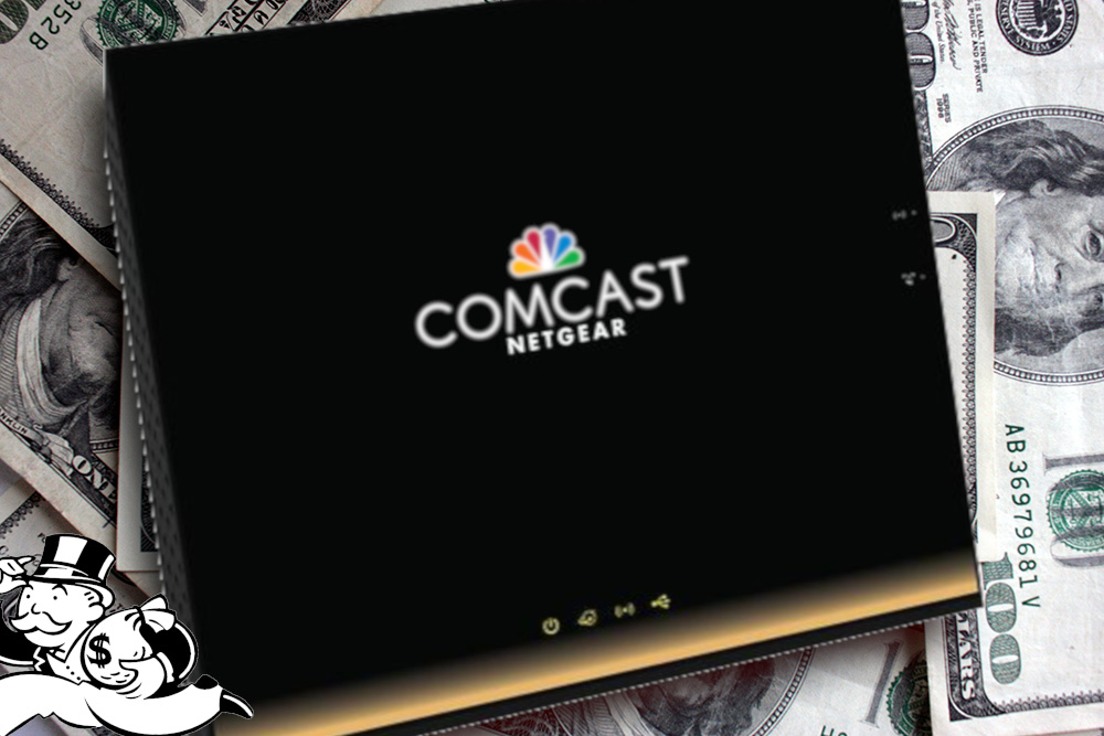 Comcast's $1 2b/year modem-rental scam picks your pocket, then