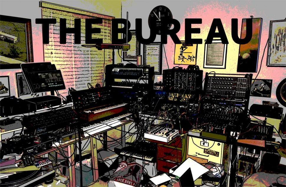 Welcome to THE BUREAU - A Story Told in Comics and Electronic Music. PART ONE:  Clocking In and Sitting Down