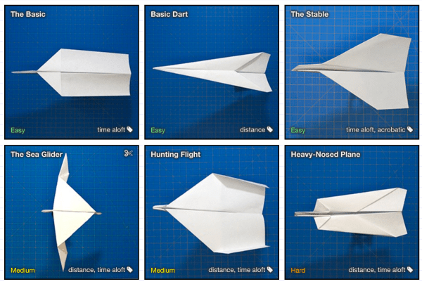 SIMPLE PAPER AIRPLANE - How to make an Origami Airplane | GornShip | 404x600