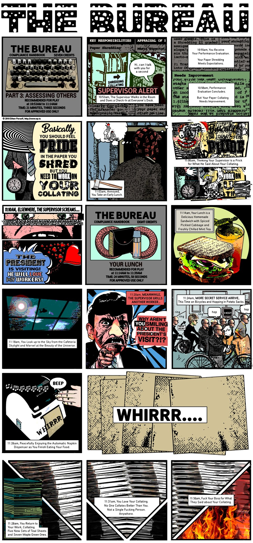 The Bureau by Ethan Persoff - Part Three