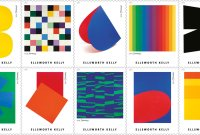 Ellsworth Kelly USPS stamps