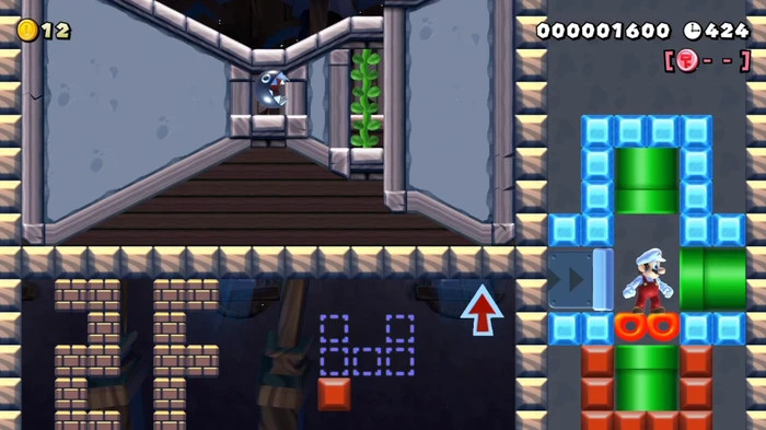 Creating a first-person adventure game with Super Mario Maker