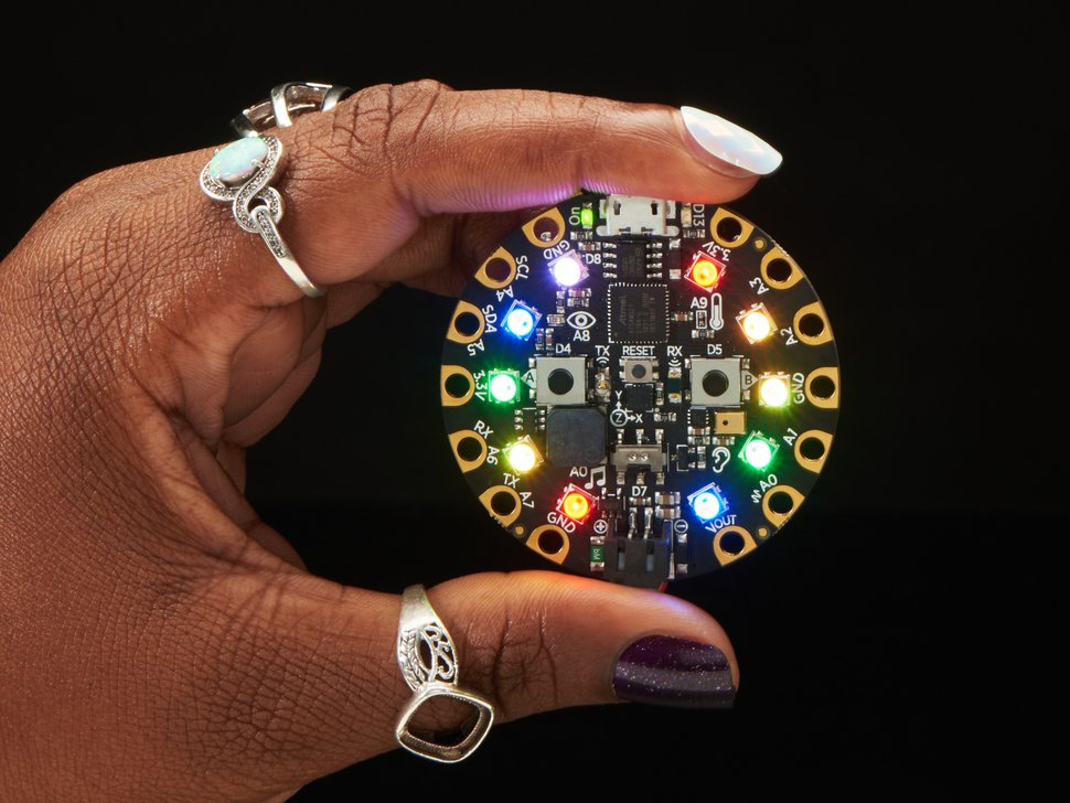 Buy a Circuit Playground Express and a second one will be donated to Black Girls CODE