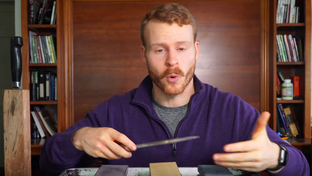 30 minutes of whetstone sharpening tips   Boing Boing