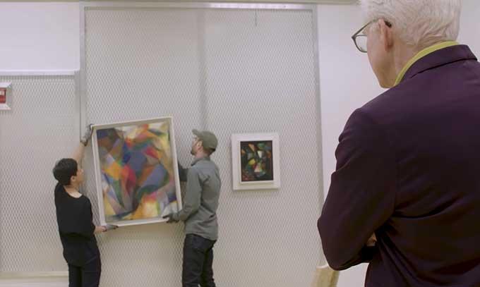 Steve Martin makes abstract art theory interesting