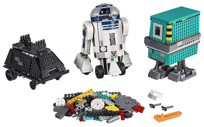 Teach a kid to code with the LEGO Star Wars Boost Droid Commander | Boing Boing
