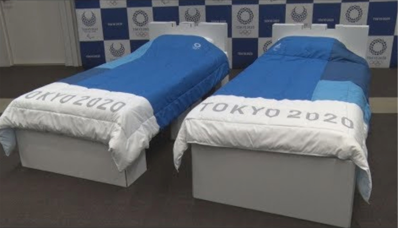 Athletes at the Tokyo Olympics will sleep on cardboard beds | Boing Boing