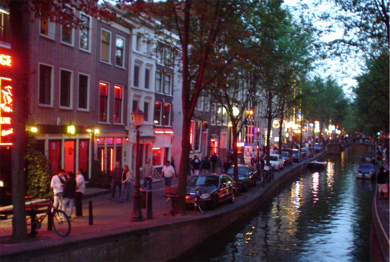 Amsterdam plans to move red light district into a new, indoor erotic mall