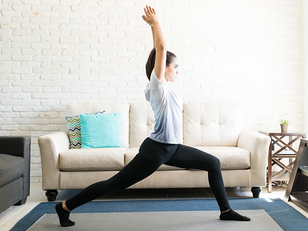 YogaDownload brings your yoga studio to your home instantly