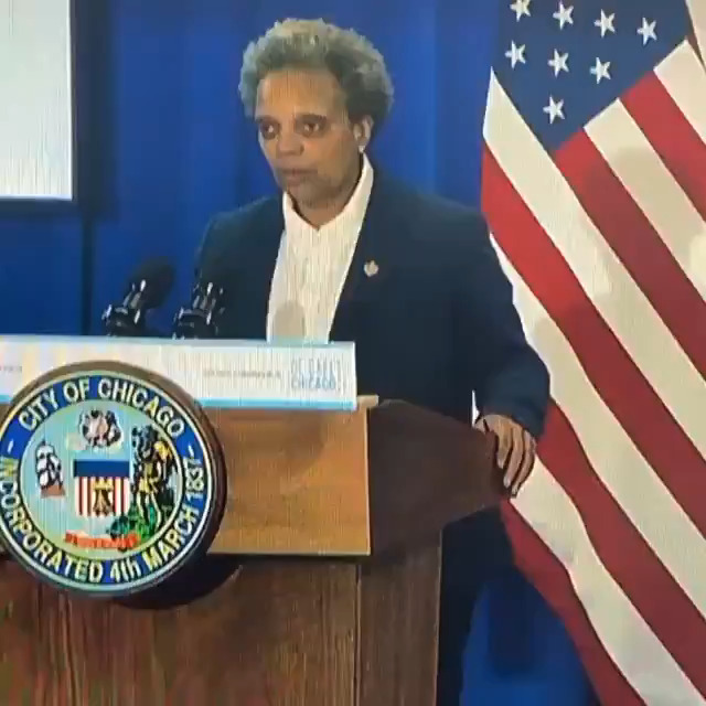 Chicago mayor Lori Lightfoot has 2 words for Donald Trump: 'It starts with F and ends with U'