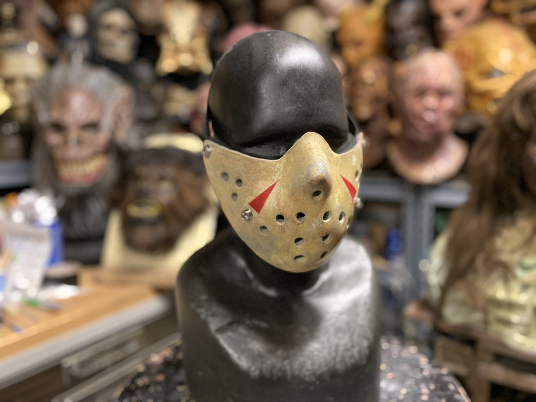 Jason Voorhees Pandemic Mask Available Boing Boing
