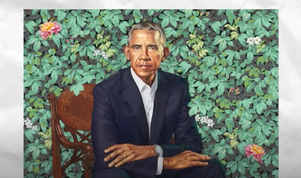 Online course shows young artists how to make portraits in Kehinde Wiley's style