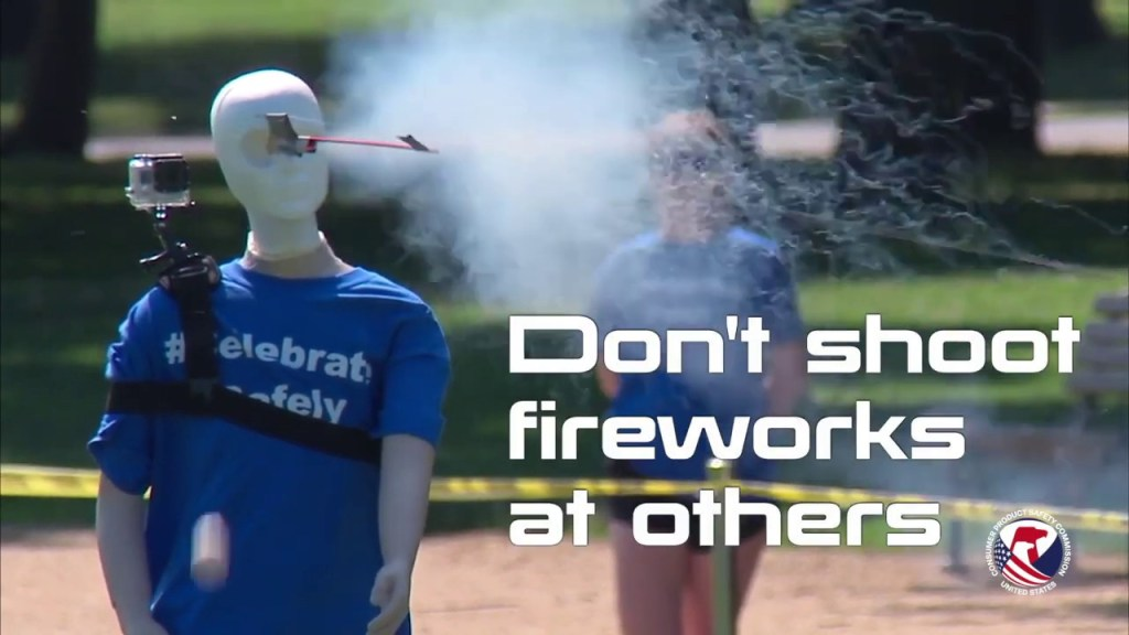 Government safety video reminds us that fireworks are no joke