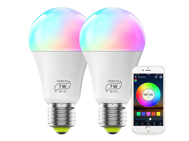 Transform your home into 16 million different colors with these smart light bulbs thumbnail