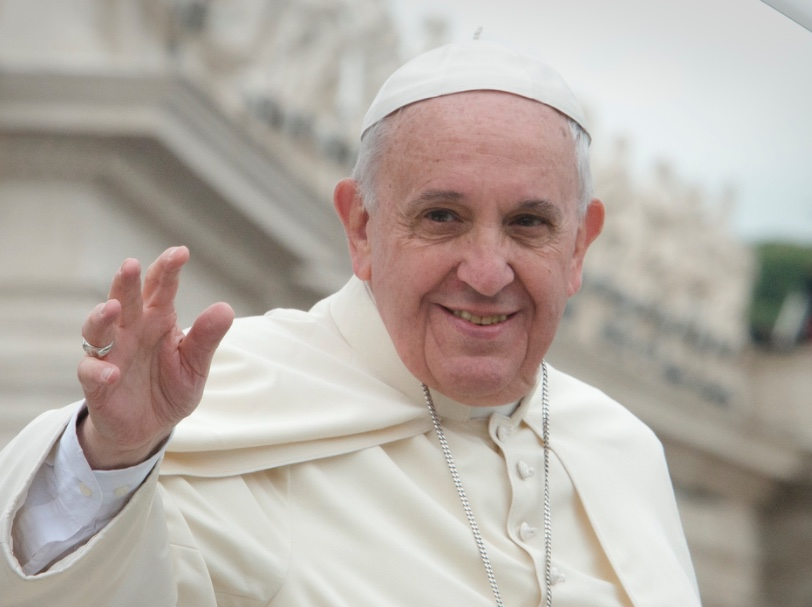 Pope: God says sex and food are A-OK