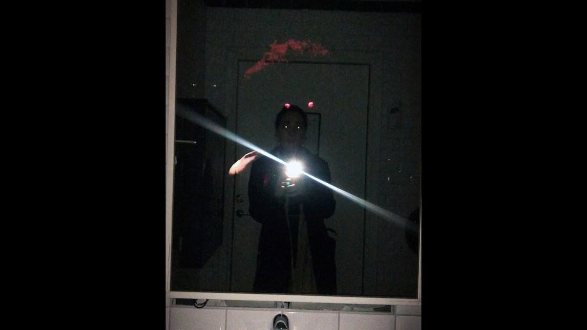 Weird Halloween stunt: say