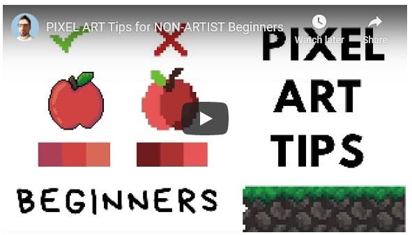 Pixel art tips for non-artists | Boing Boing