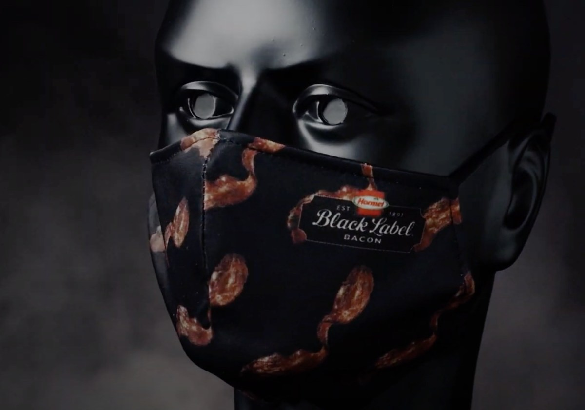 Meat company sells face mask that smells like bacon   Boing Boing