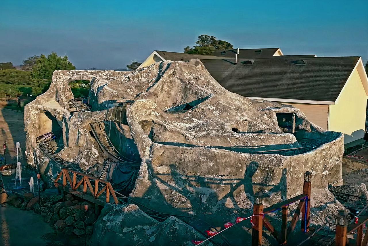 Backyard matterhorn