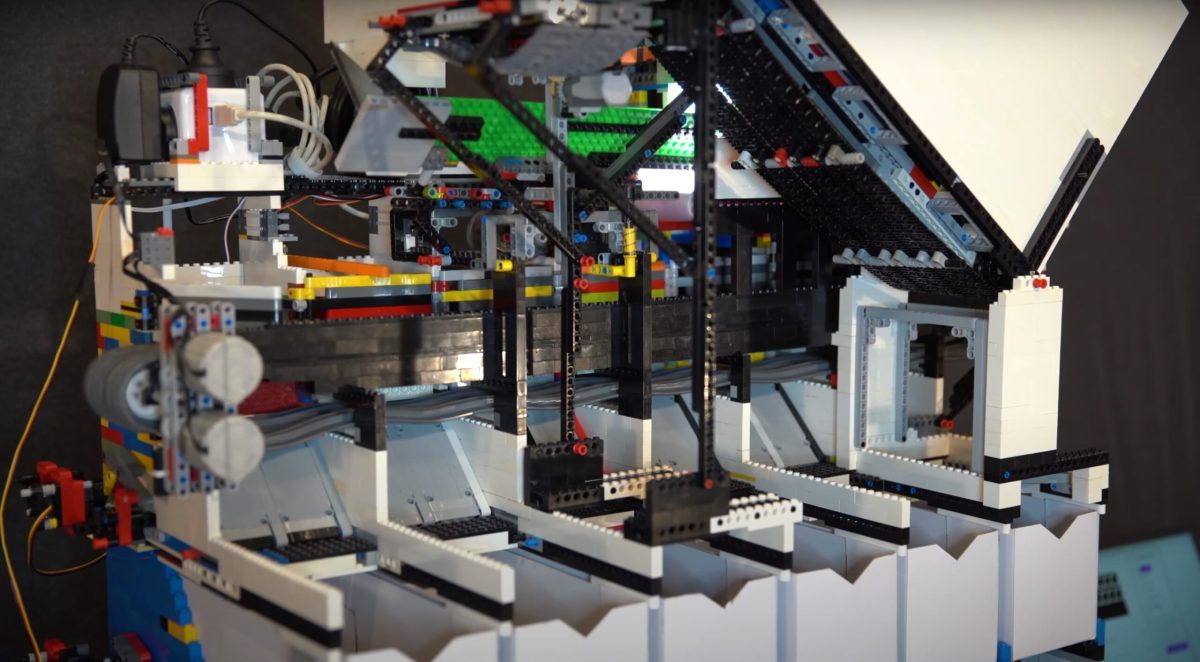 This LEGO machine can sort any kind of LEGO | Boing Boing
