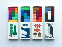 Goober lego crayons