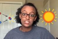 Screenshot of video by Maryam Tsegaye explaning quantum tunnelling