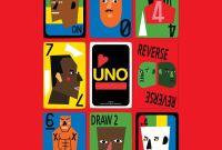 UNO Artiste deck designed by Nina Abney
