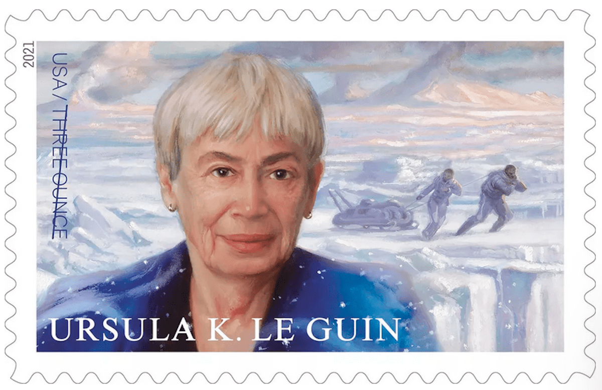 Ursula K. Le Guin gets a postage stamp   Boing Boing