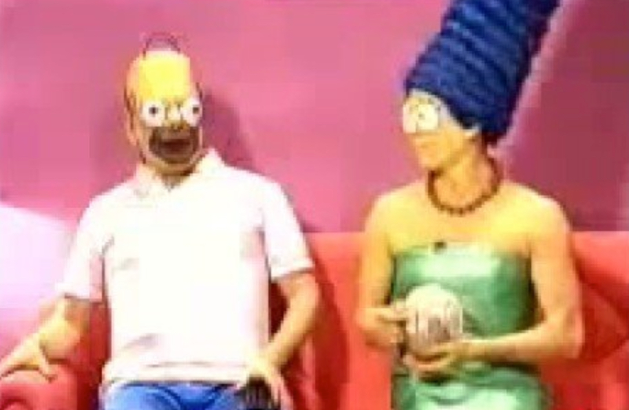 The Simpsons: a strange and unsettling live action segment from Spanish TV