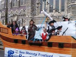 Sea shanty festival photo by Mossy Carey