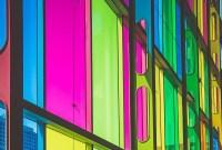 multi color window