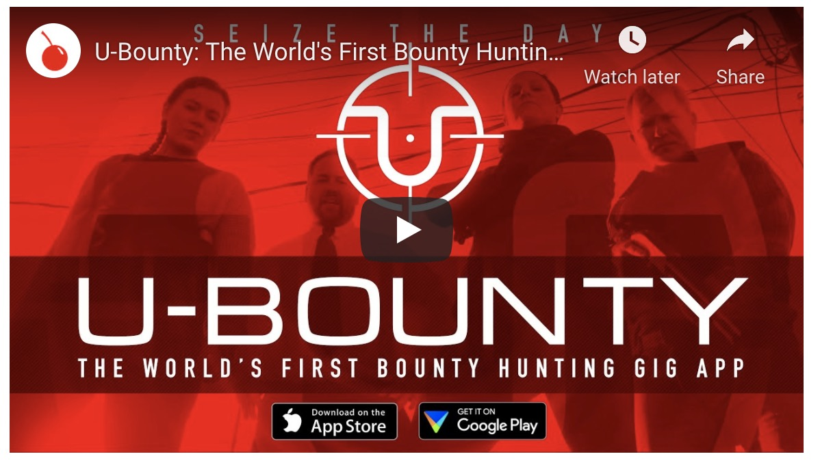 U-Bounty: The World's First Bounty Hunting Gig App | Boing Boing