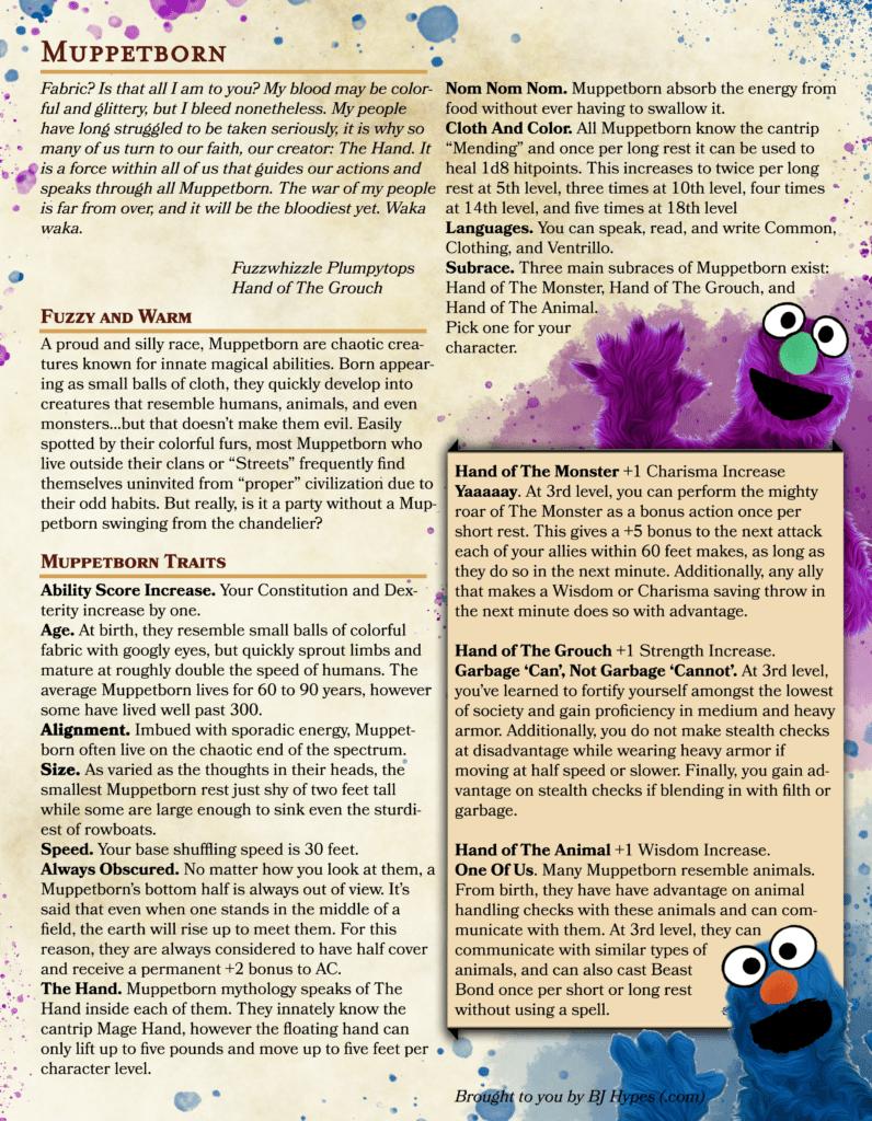 Muppetborn