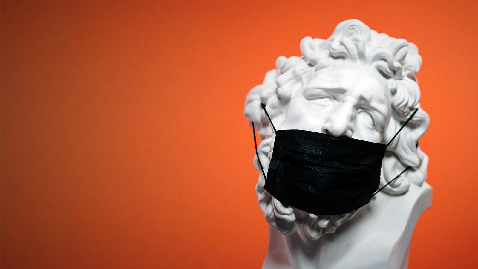 Vagina-scented face masks
