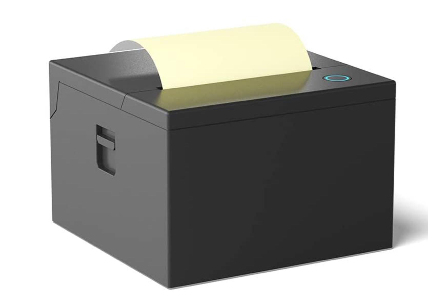 Sticky note printer