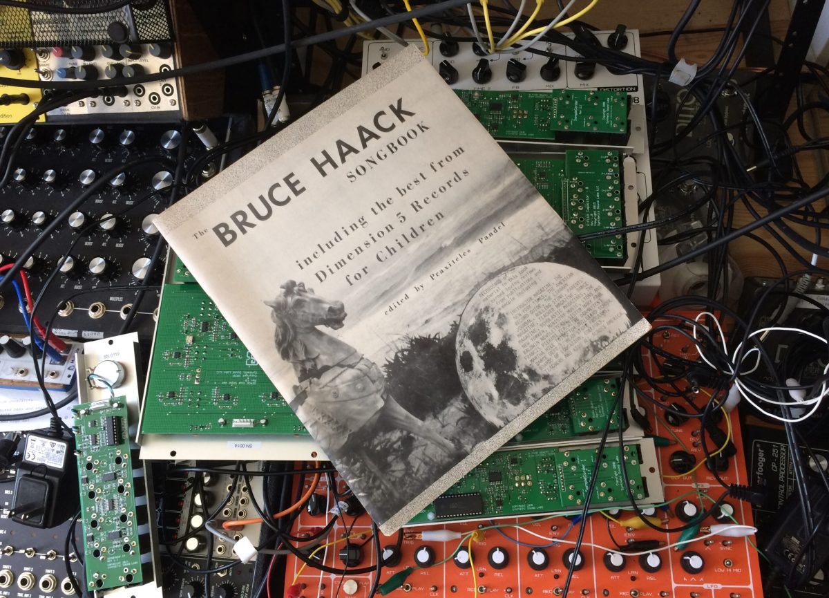 THE BRUCE HAACK SONGBOOK is a vital and RARE piece of early Electronic Music history. Hear a Computer play through all of it. | Boing Boing