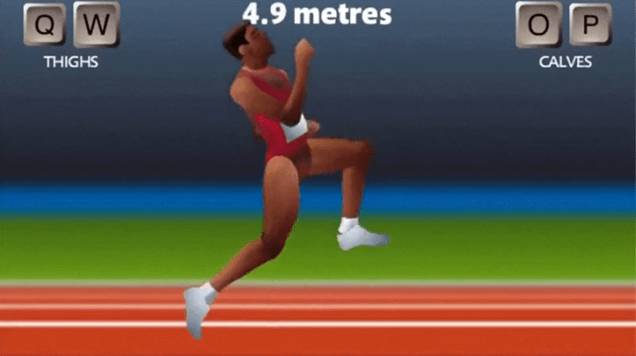 Artificial intelligence tries QWOP