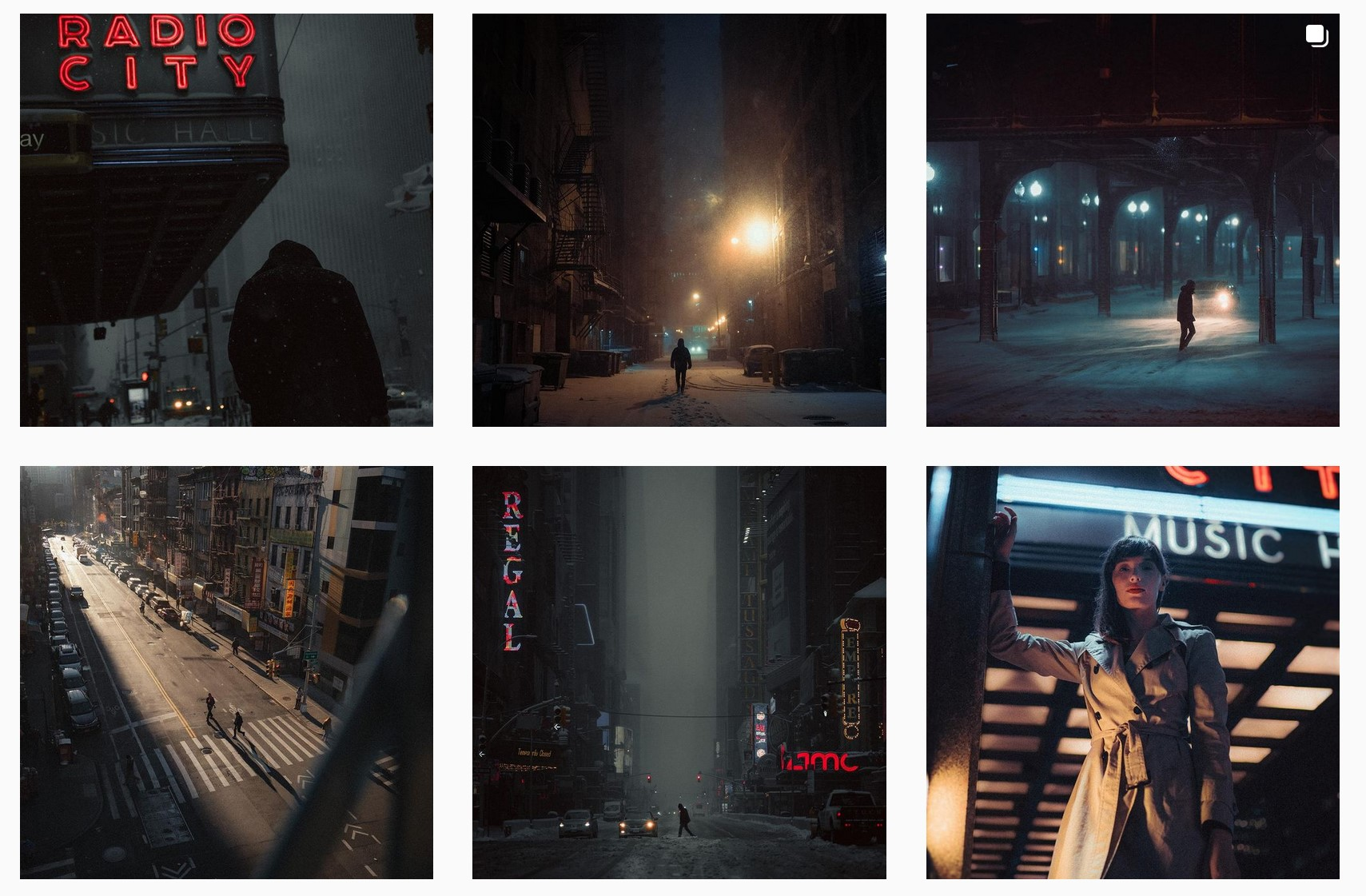 Photographer captures the neo-noir vibes of New York City