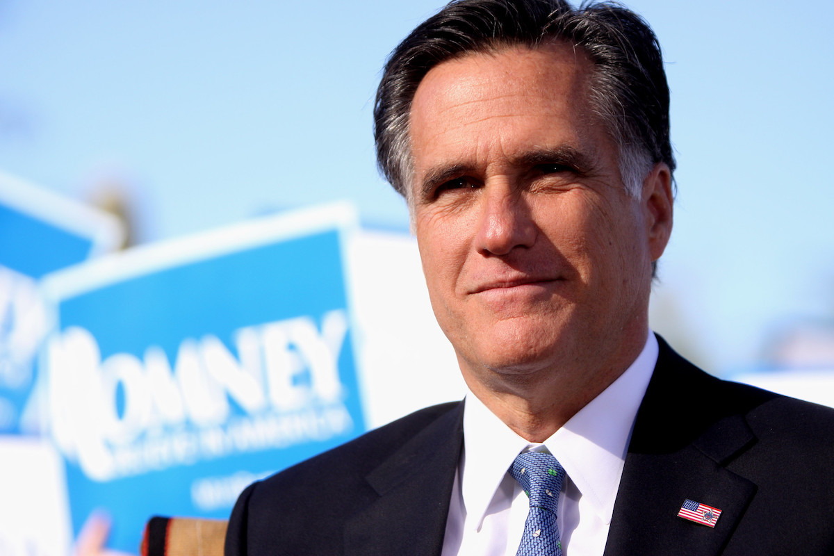 "Mitt Romney jokes about his fall and black eye: ""I went to CPAC. That was the problem."""