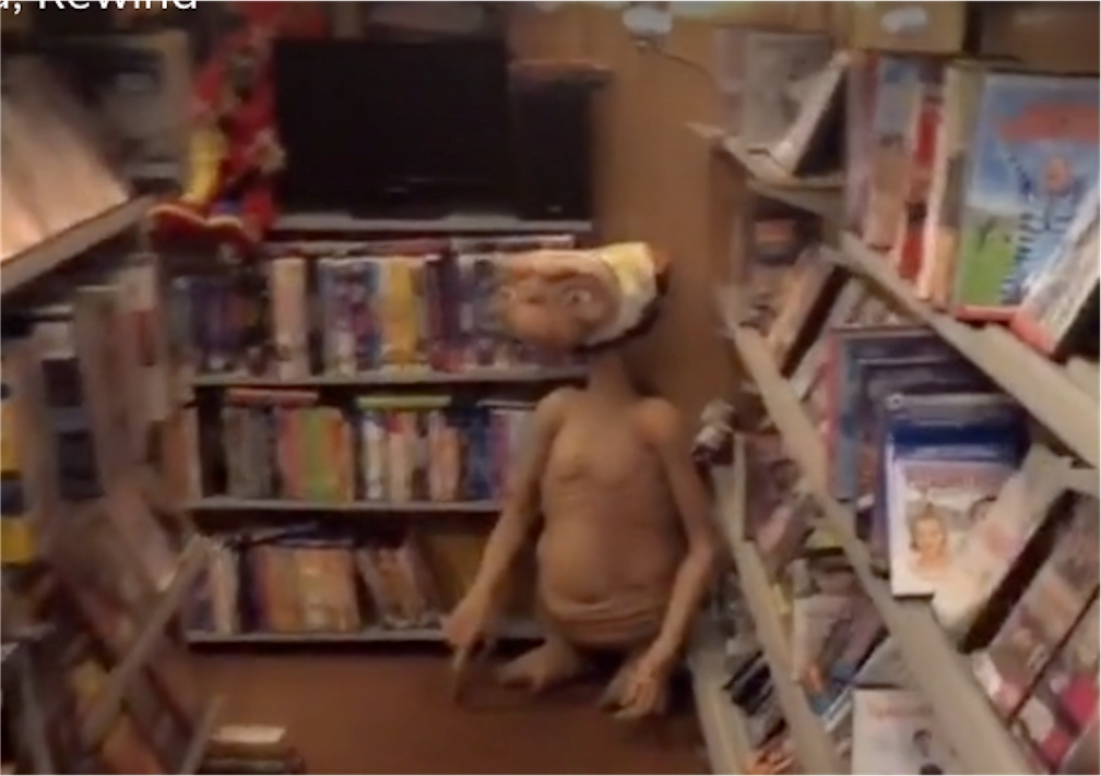 Man built a pretend video rental store in his basement as a pandemic project   Boing Boing
