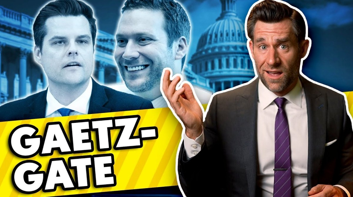 Watch this legal expert break down the Matt Gaetz scandal | Boing Boing