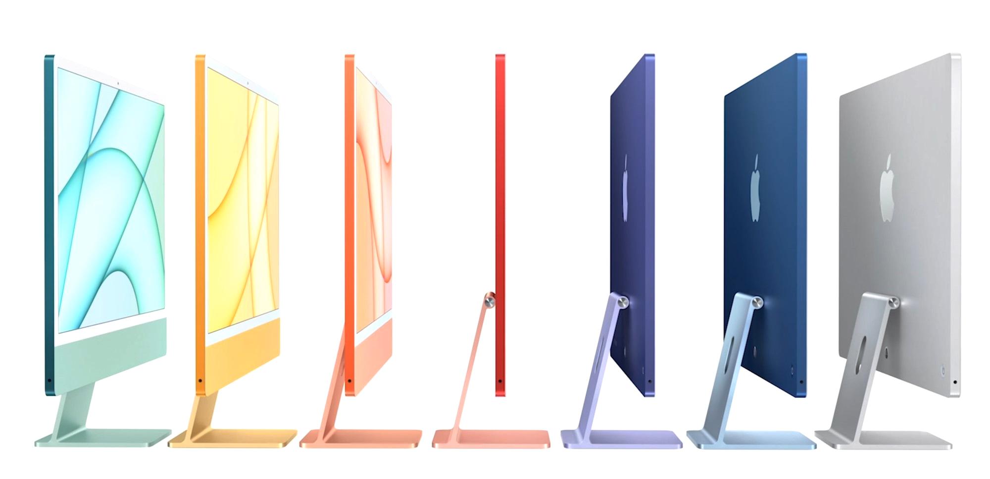 Colorful M1 iMacs and M1 iPad Pro announced