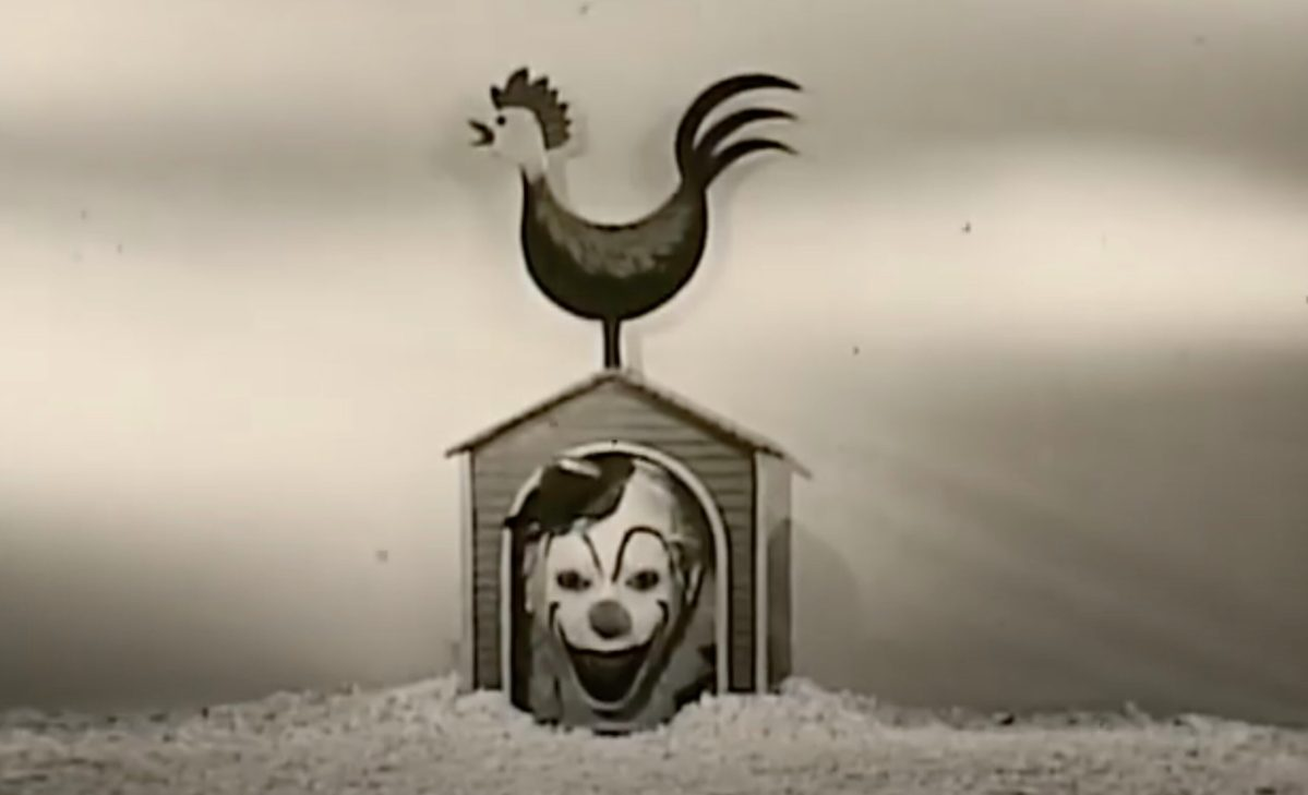 This clown sure likes Sugar Rice Krinkles in this 1956 TV spot | Boing Boing