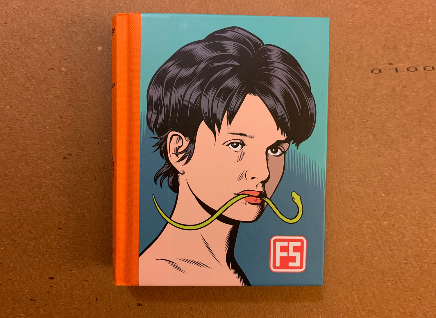 Cartoonist Charles Burns' secret zine is available as a book