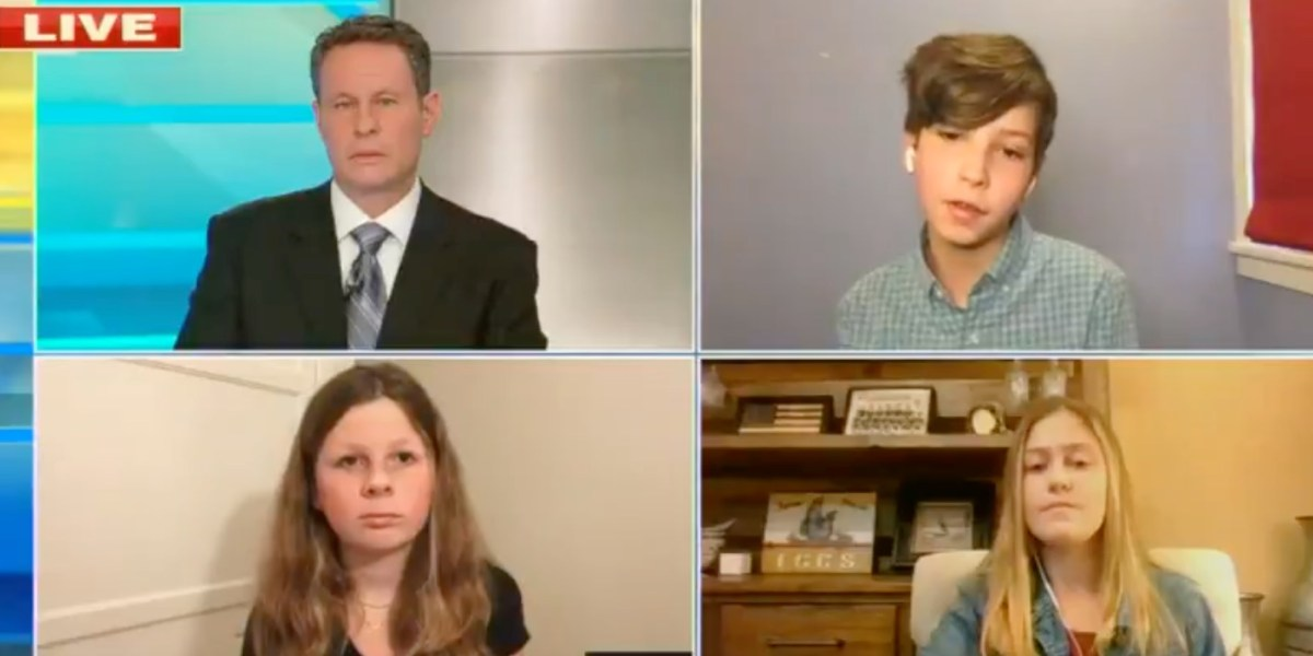 Watch 6th grader speak the truth to Fox News's Brian Kilmeade about schools reopening | Boing Boing