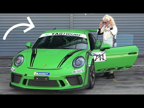 Watch an 82-year-old woman absolutely flog a Porsche GT3 RS around a Monza track | Boing Boing