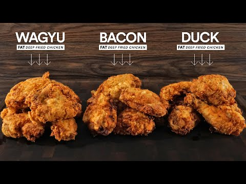 YouTuber determines the best fat for deep frying chicken   Boing Boing