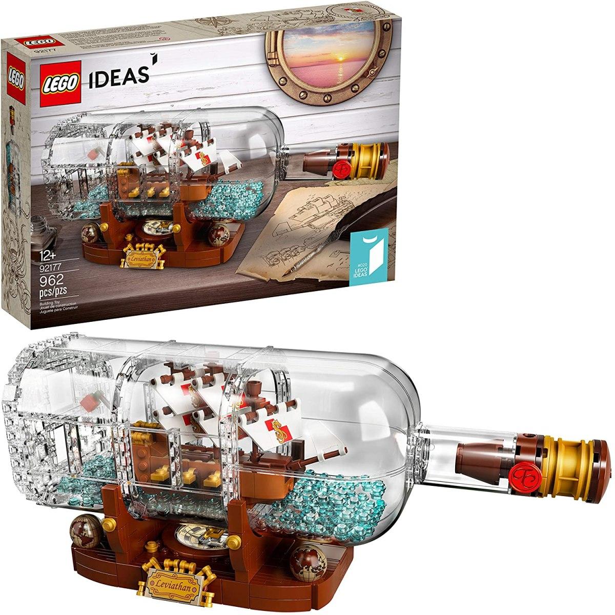 Great deal on LEGO Ideas Ship in a Bottle | Boing Boing