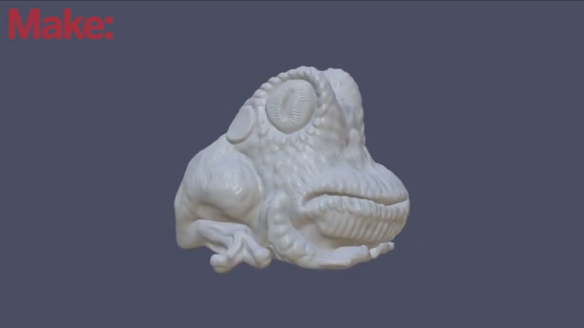 Good video introduction to digital 3D sculpting   Boing Boing